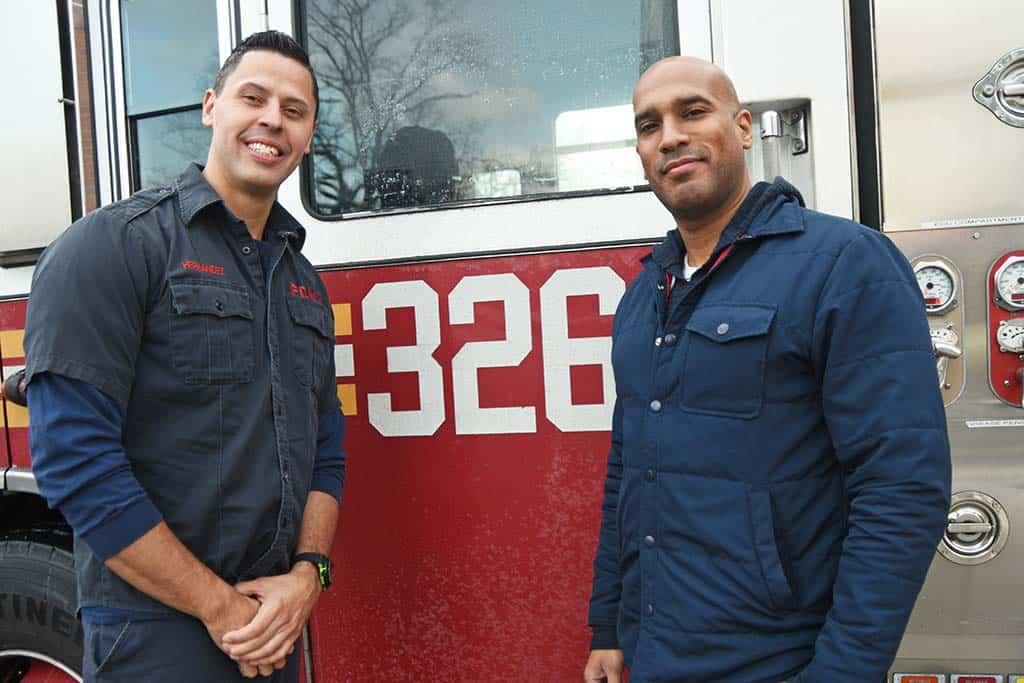 Firefighter Hernandez